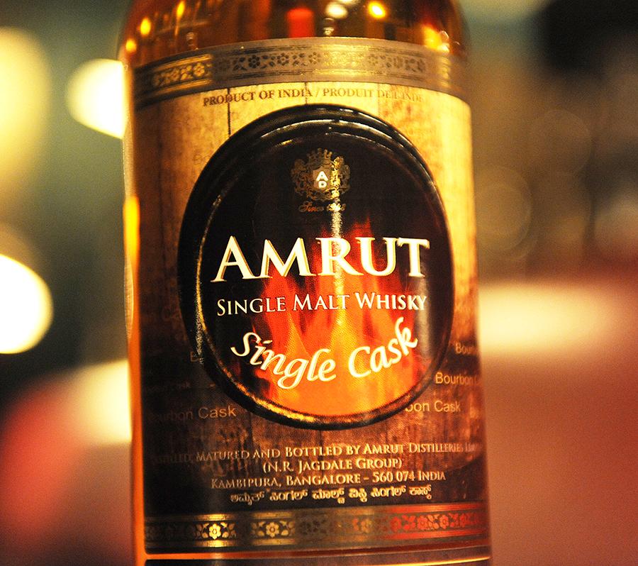 AMRUT SingleCaskWhisky BourbonCask Peated 4yearold