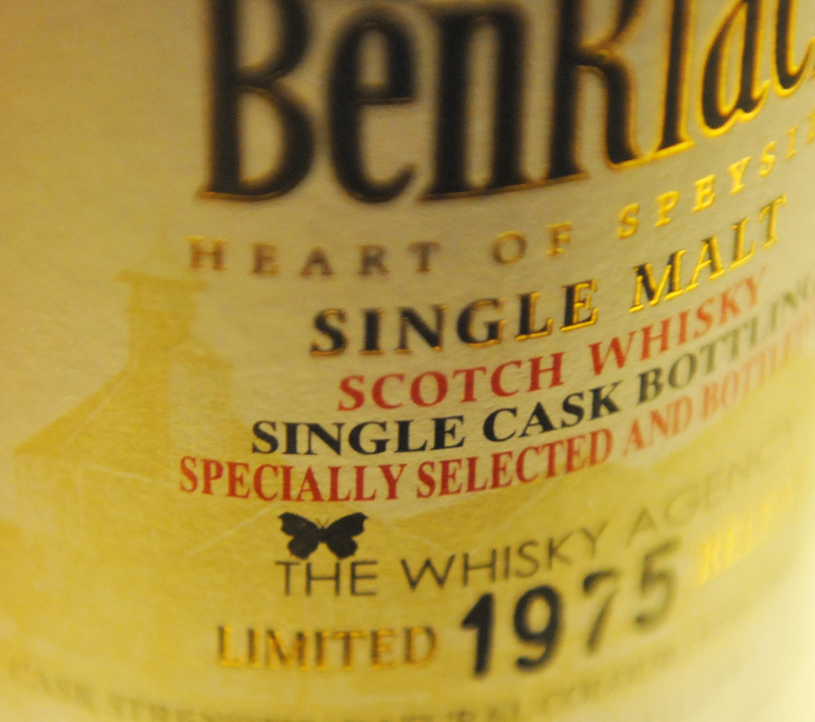 BENRIACH 1975 34yearold for TheWhiskyAgency