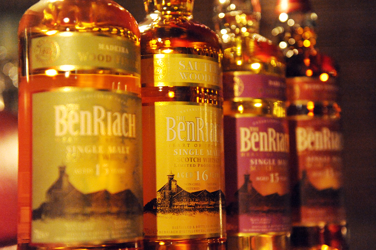 BENRIACH 2014 Wood Finish Series