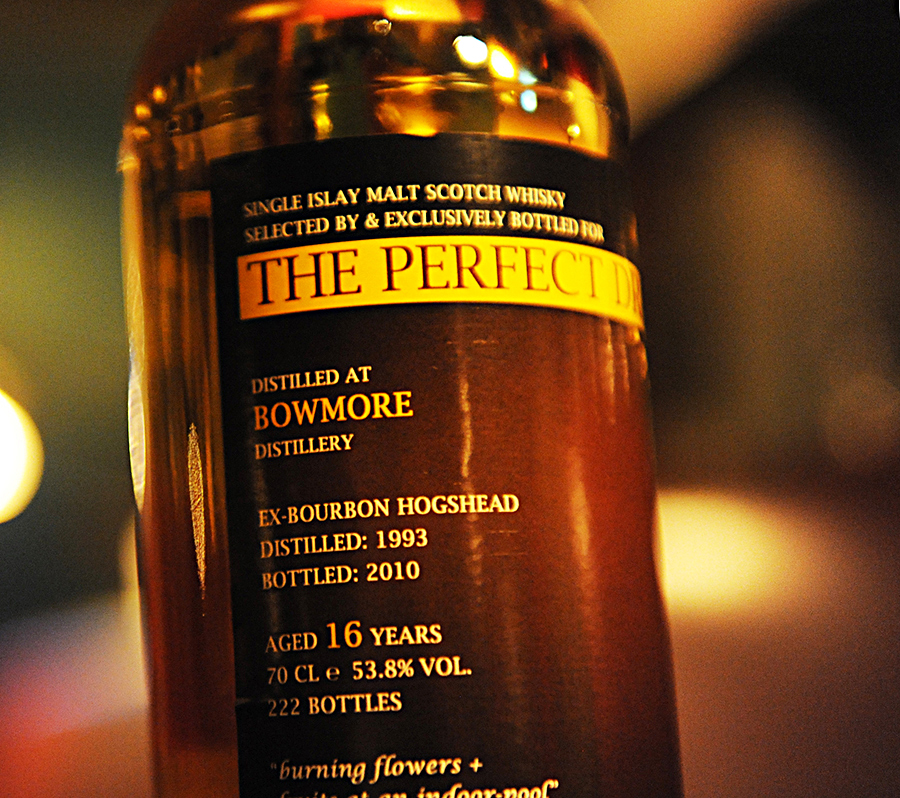 TheWhiskyAgency PerfectDram BOWMORE 1993 16yearold