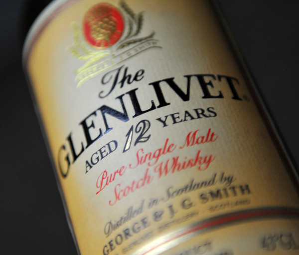The GLENLIVET 12yo Pure Single Malt