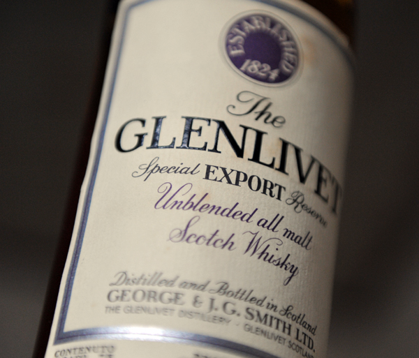 The GLENLIVET Export Reserve