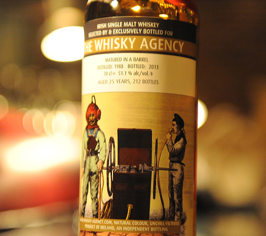 TheWhiskyAgency OldTimeDiving IRISH Malt 1988 25yearold