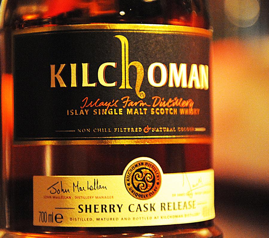 KILCHOMAN SherryCask 5yearold BlackLabel