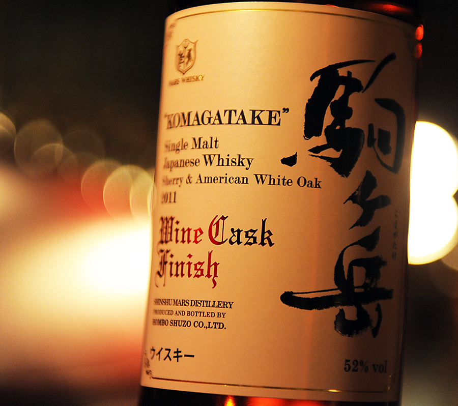 KOMAGATAKE Sherry & AmericanWhiteOak 2011 WineCaskFinish