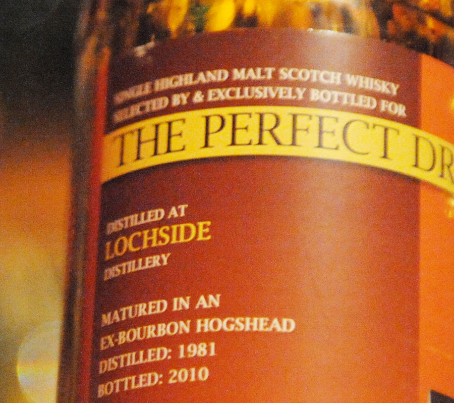 TheWhiskyAgenncy PerfectDram LOCHSIDE 1981 29yearold