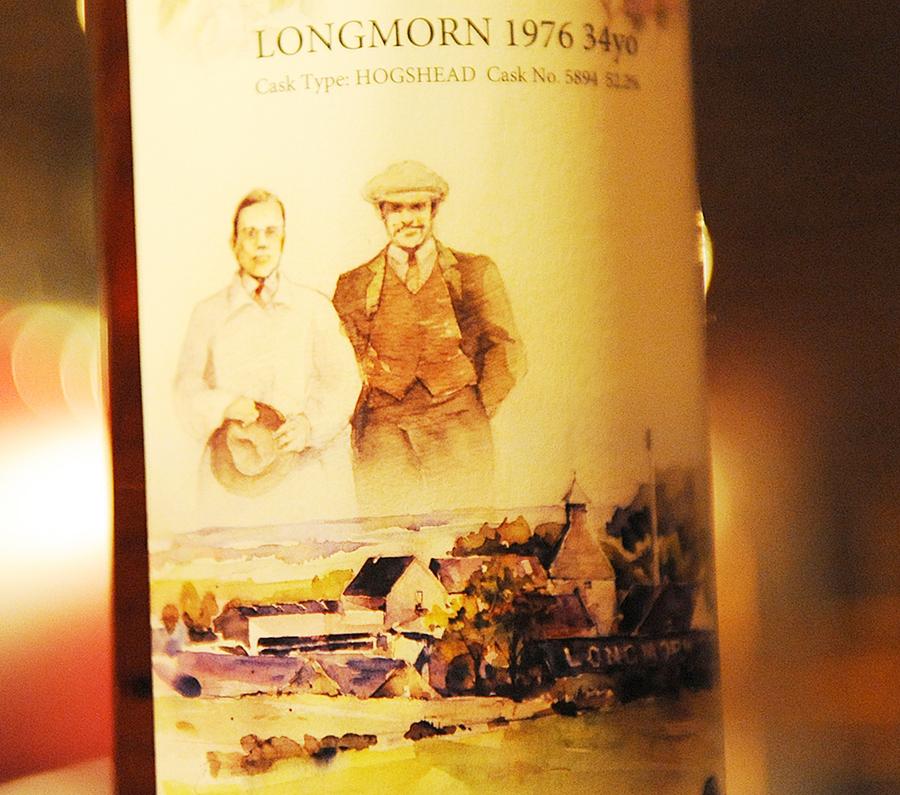 LONGMORN 1976 34yo WhiskyFestival2010